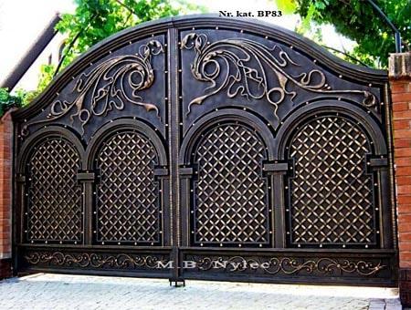 Elegancka kuta brama pełna bp83