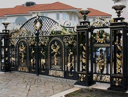 brama pałacowa bp46