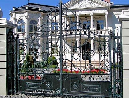 brama w stylu dworskim bp29
