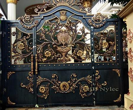 Egzotyczna brama wjazdowa bp113