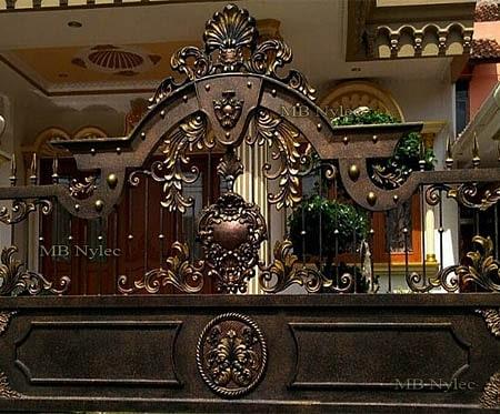 brama kuta w orientalnym stylu bp98