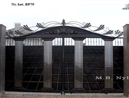 brama kuta w typie greckim bp79