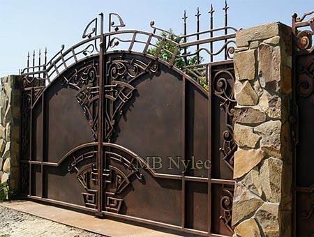 brama w stylu art deco