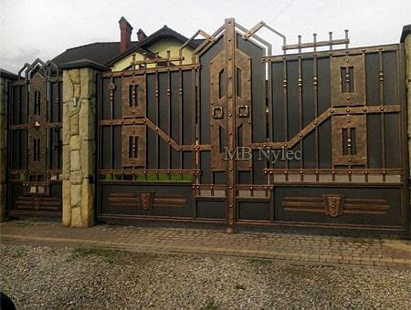 brama w stylu industrial