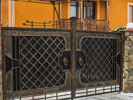 brama wjazdowa loft vintage