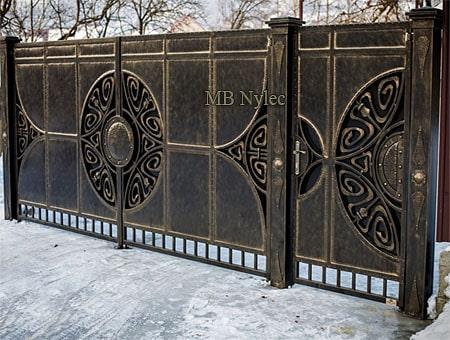 brama wjazdowa vintage bp188