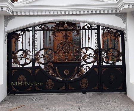 brama wjazdowa w typie orientalnym bp131