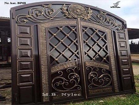 ekskluzywna brama wjazdowa bp68