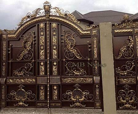 kuta brama na posesję o charakterze orientalnym bp100