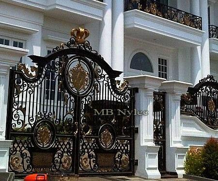 kuta brama wjazdowa do domu w typie orientalnym bp119