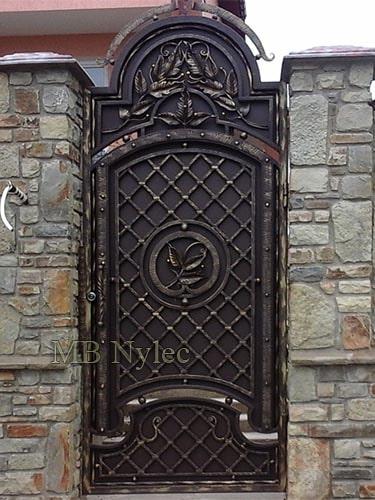 kuta pełna stalowa bramka wejściowa bp155f