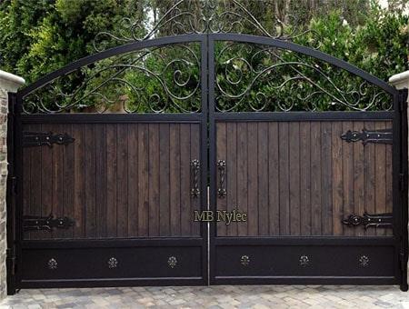 loftowa brama wjazdowa