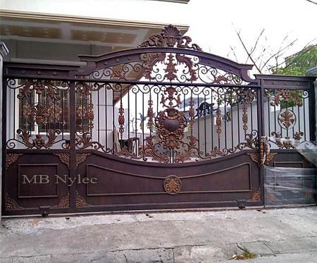 orientalna brama wjazdowa bp116