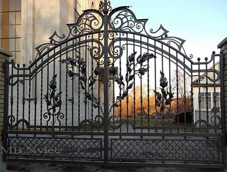 tradycyjna brama kuta bp102
