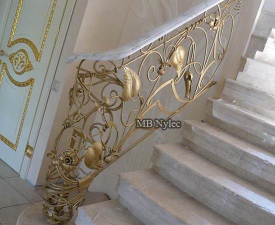 Balustrada ręcznie kuta ba79