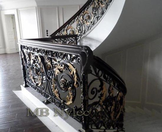 Barokowa balustrada kuta ba54