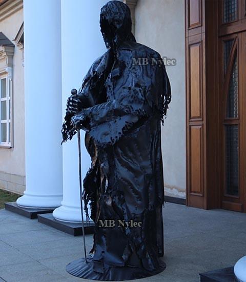 Nazgul upiór sauron - rzeźba z stali 220cm