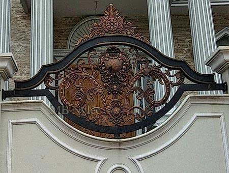 ekskluzywne ogrodzenie orientalne bp206