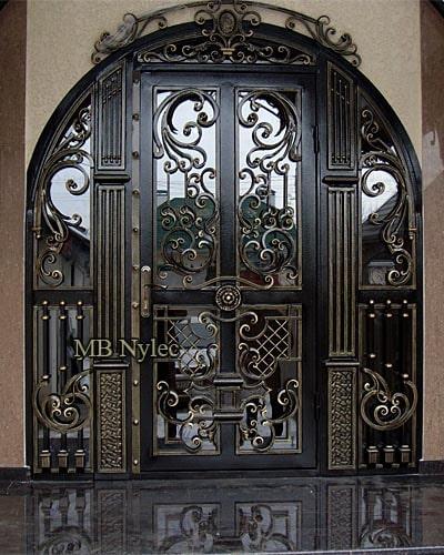 ekskluzywne drzwi kute dz1