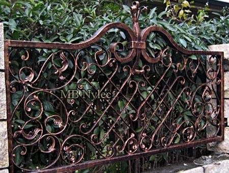 eleganckie kute ogrodzenie bp247