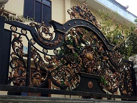 kute ogrodzenie pałacowe royal - ogrodzenie royal
