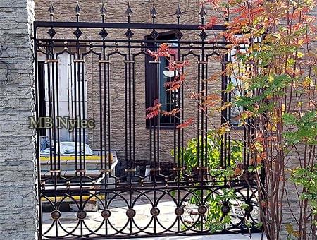 ogrodzenie klasyczne retro bp242