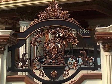 orientalne ogrodzenie pałacowe bp207