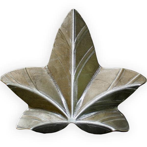 Kuty liść stalowy bluszczu duży l6