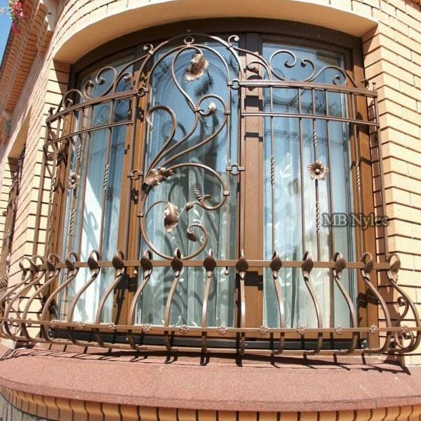 Łukowa kuta krata na okna