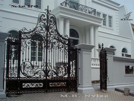 Brama kuta w typie barokowym bp49