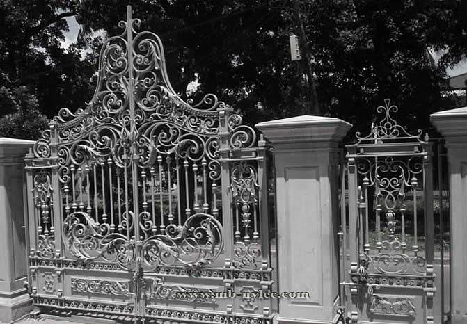 Kuta wjazdowa brama barokowa bp48