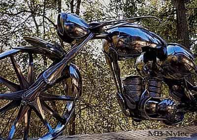 Rzeźby z metalu
