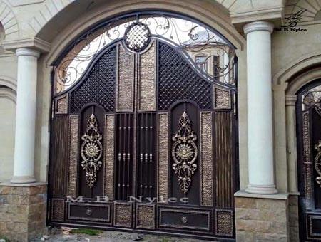 brama pełna - zasłaniająca bp58