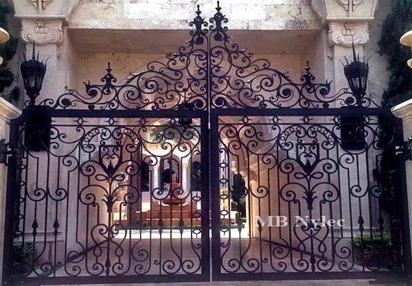 brama w stylu antycznym bp40