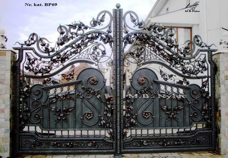 brama wjazdowa pół pełna bp69