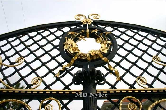 bramy pałacowe - detale