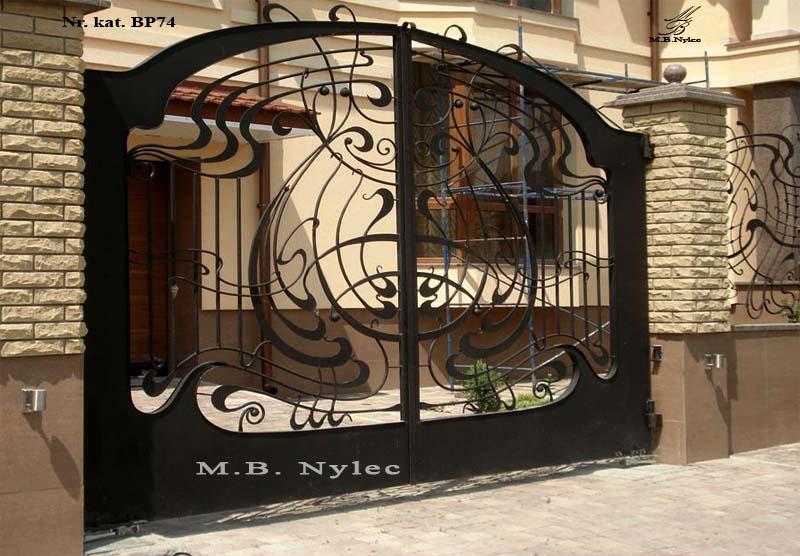 kuta brama nowoczesna - secesja - bp74