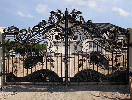 kuta brama wjazdowa bp55