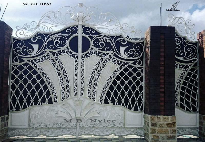 kuta brama wjazdowa w stylu glamour bp63