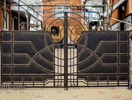 brama loft vintage - kowalstwo artystyczne - bp194