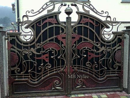 bramy do rezydencji - brama do rezydencji bp200