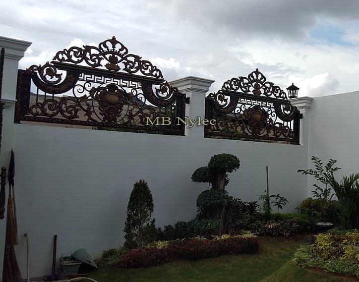 ekskluzywne ogrodzenie kowalskie bp130b