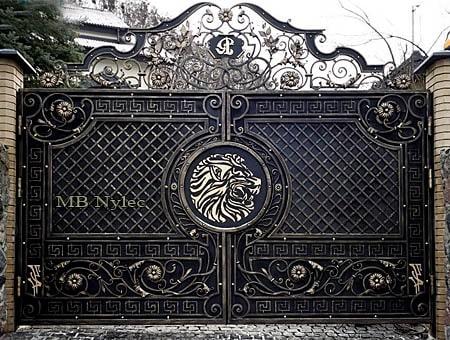 kuta brama w dworskim stylu bp106