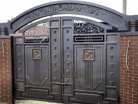 kuta brama w stylu industrialnym , vintage bp186