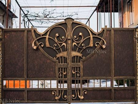 kuta brama wjazdowa loft vintage bp196