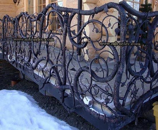 Balustrada w formie pnącza ba39