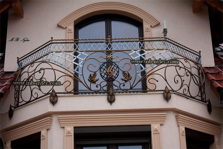 Balustrady balkonowe kute warszawa