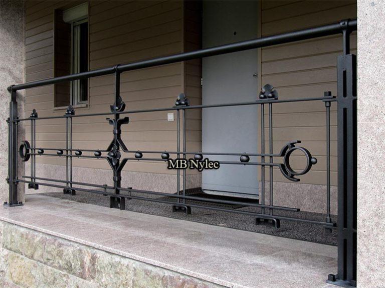 Balustrady kute nowoczesne modern
