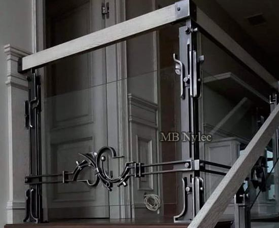 Ekskluzywna balustrada modern loft industrial