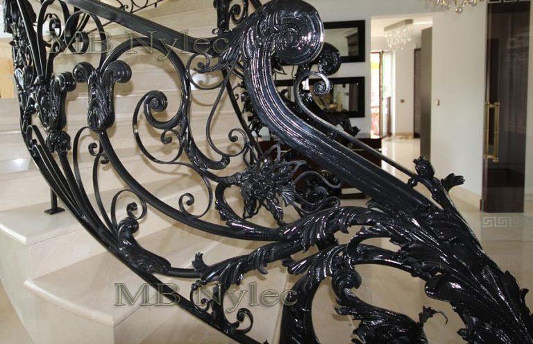 Kute balustrady barokowe glamour